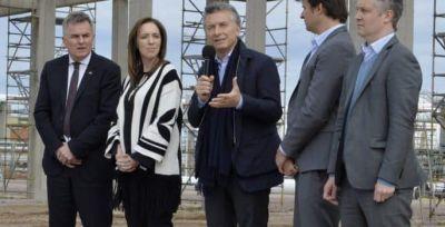 """Macri en Olavarría: """"Íbamos en un avión que se iba a estrellar"""""""