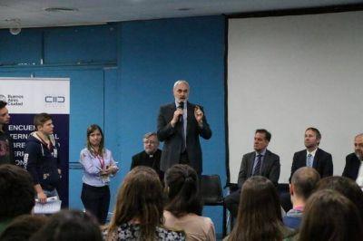 Alumnos de la Ciudad participaron de un encuentro de diálogo interreligioso y convivencia ciudadana