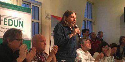 FEDUN y gremios de la región contra la reforma laboral y a favor de la educación pública