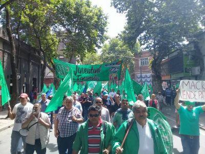 El Paro Nacional de ATE se hizo sentir en Tucumán