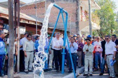 Agua potable para 4500 vecinos de La Mendieta
