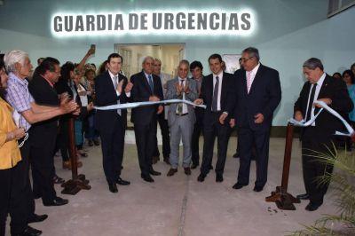 Zamora y autoridades provinciales inauguraron obras en Bandera