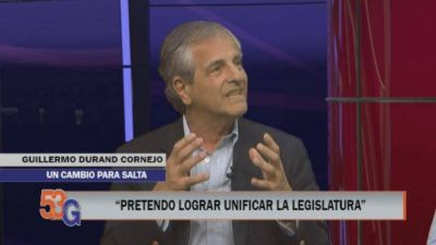 Durand Cornejo quiere eliminar el Senado