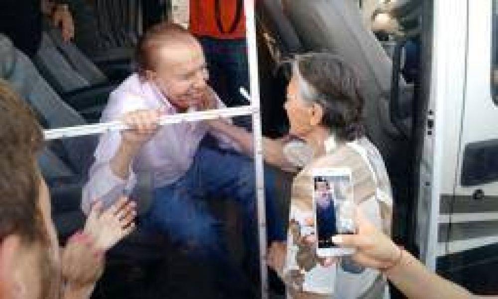 """""""Tengo la seguridad de que vamos a triunfar"""", sentenció Menem"""