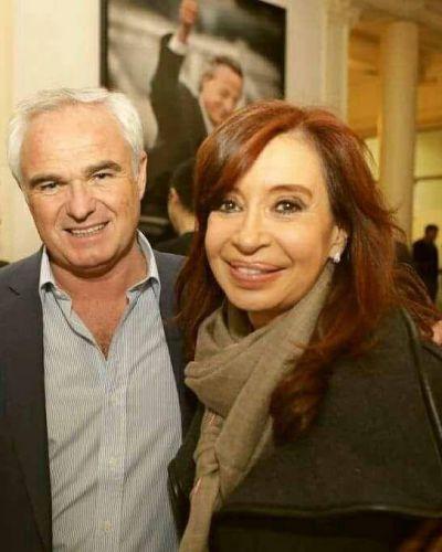 Barcelona se reunió con Cristina en Buenos Aires