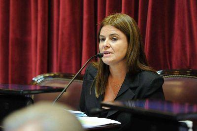 La senadora Kunath pide informes al Ejecutivo sobre la creación de Corredores Viales SA
