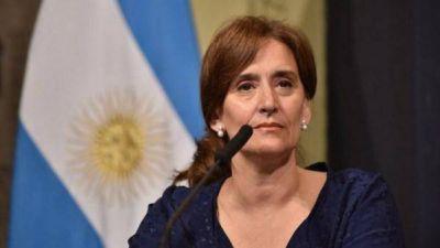 Gabriela Michetti viene a apoyar a los candidatos de Cambiemos