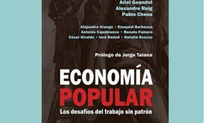 """En la sede del PJ presentan libro  """"Economía Popular"""""""