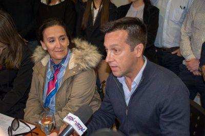 Michetti estuvo en Necochea apoyando a los candidatos de Cambiemos