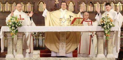 Ariel Sueiro, es desde ahora, nuevo párroco de la Iglesia Catedral marplatense