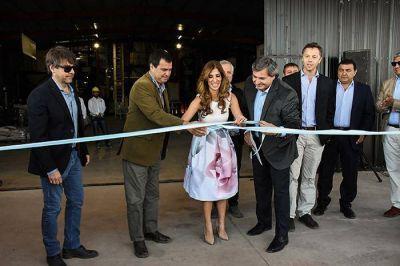 La Gobernadora inauguró planta productiva