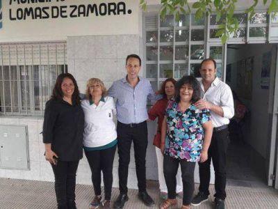 Guillermo Viñuales destacó el rol de las unidades sanitarias barriales