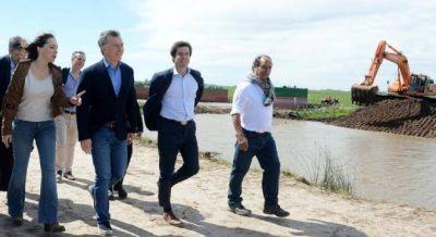 Río Salado: La obra de Vidal para recuperar más de 1 millón de hectáreas productivas