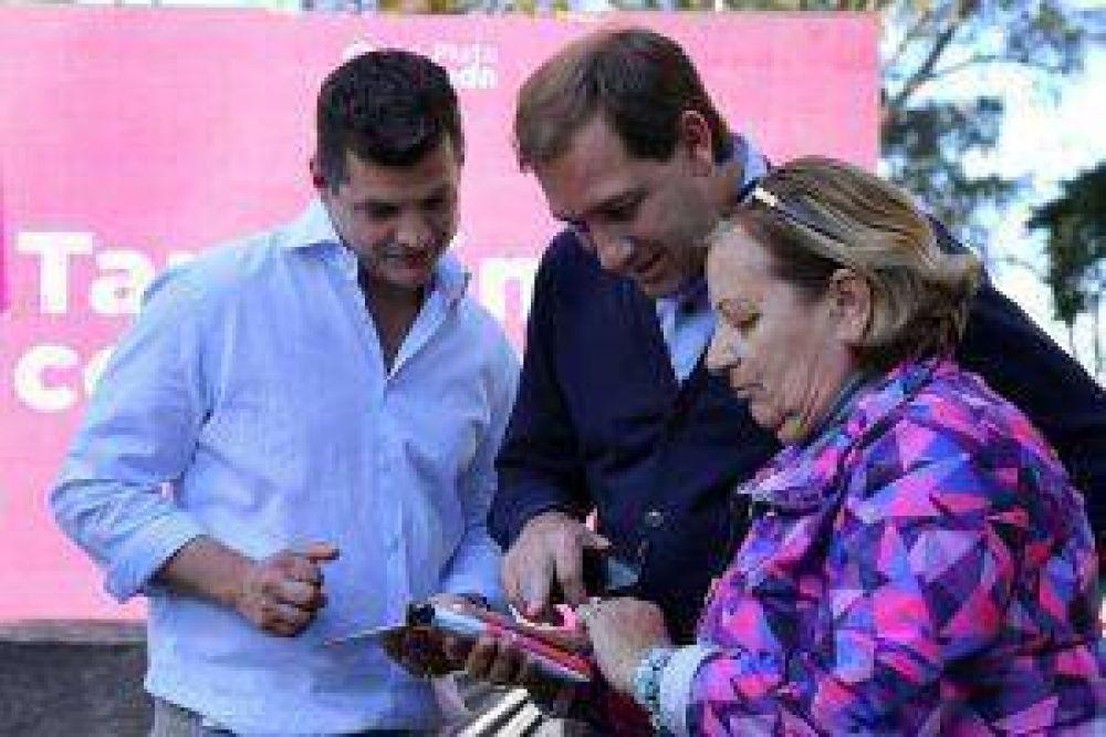 GARRO PRESENTÓ WIFI LIBRE Y GRATUITO EN 12 NUEVOS PUNTOS DE LA CIUDAD