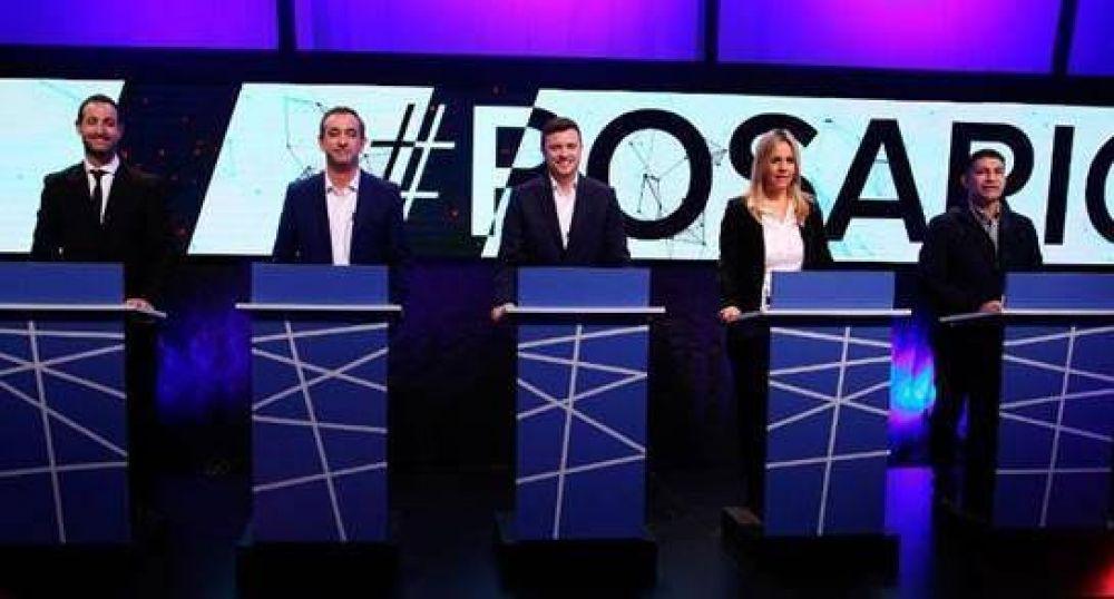 Candidatos a concejal debatieron en Rosario