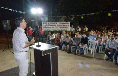 Capitanich habilitó 10 cuadras de pavimento en Villa Universidad