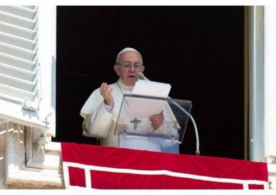 El Papa en el Ángelus: Seamos la viña que el Señor plantó por el bien de todos