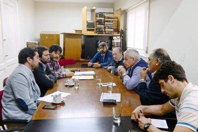 El HCD de San Fernando recibió a autoridades del Ente Nacional Regulador de Electricidad