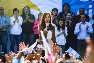 CFK desde Escobar dijo que no quiere