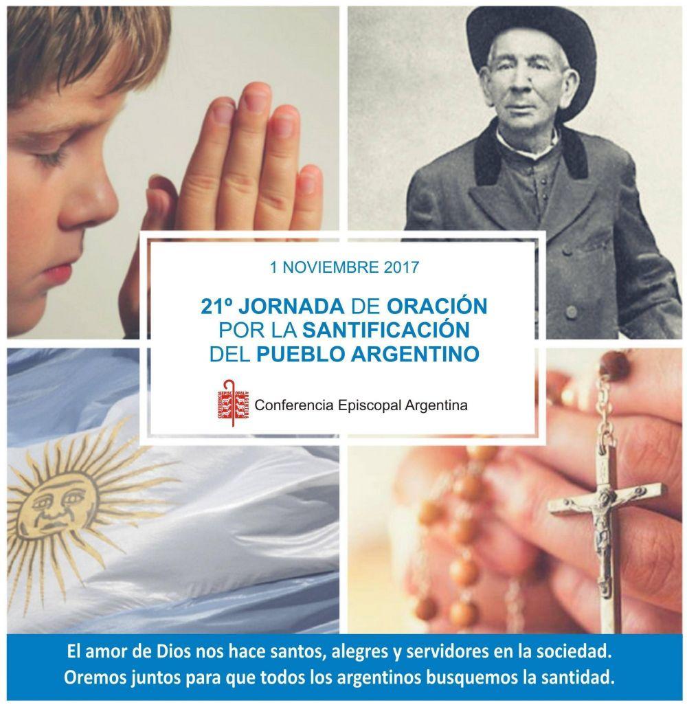 Jornada de oración por la santificación del pueblo argentino