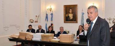 APERTURA DE OFERTAS PARA EL COMPLEJO MINISTERIAL PRIMERA ETAPA B° MALVINAS