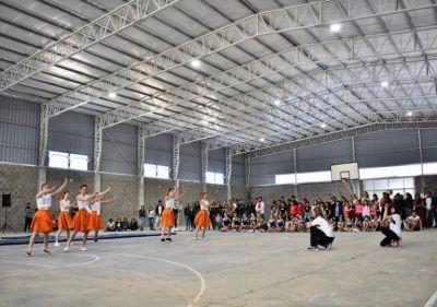 Otro sueño que ya es realidad: se inauguró el gimnasio municipal