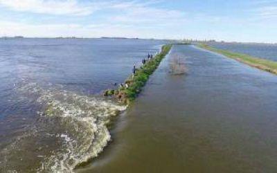 Trenque Lauquen: Se rompió una defensa y Girodías volvió a complicarse con el agua