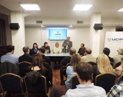 Vilma Baragiola se reunió con empresarios en UCIP