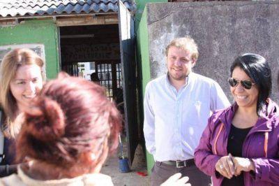 Fernando Maraude se reunió con los vecinos de Batán