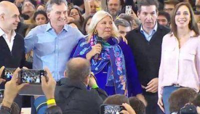 Macri cierra la campaña con Carrió y Larreta