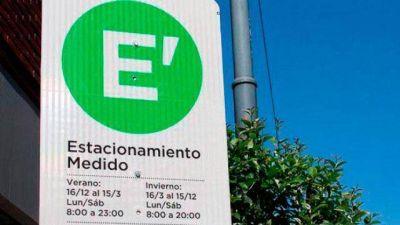 Vicente explicó los alcances del proyecto que plantea cambios en el Estacionamiento Medido