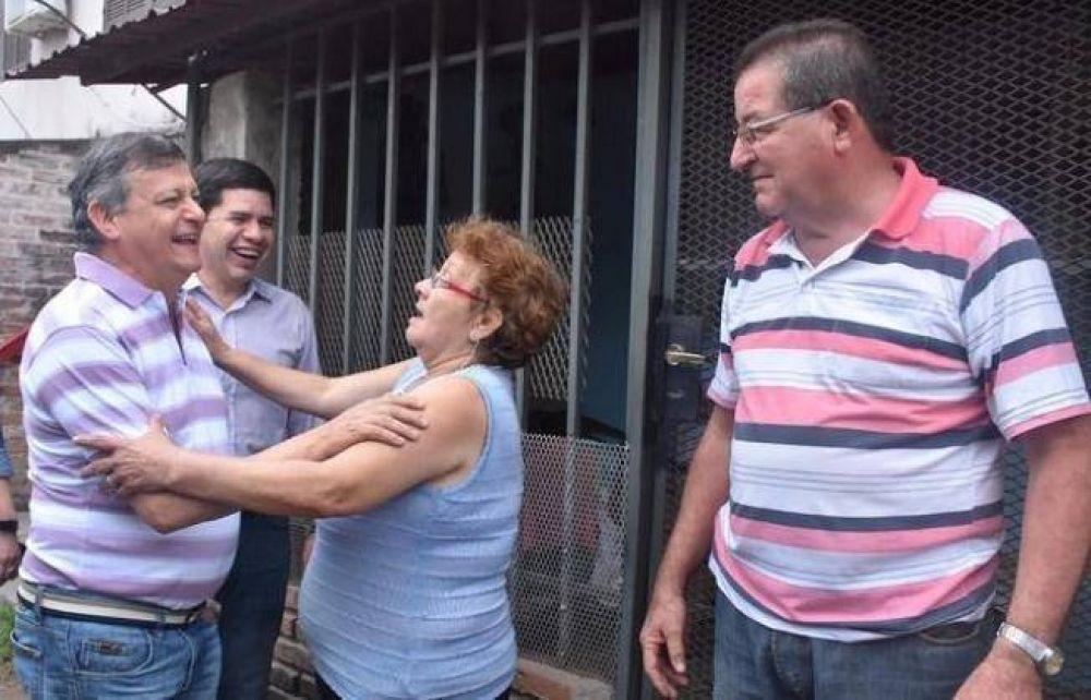 Peppo y Martínez Campos pidieron el voto para