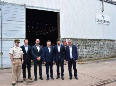 Peppo celebró inversión cerealera en el puerto y volvió a reclamar por el Belgrano Cargas