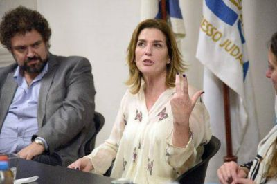 Débora Pérez Volpin mantuvo un encuentro con el Congreso Judío Latinoamericano