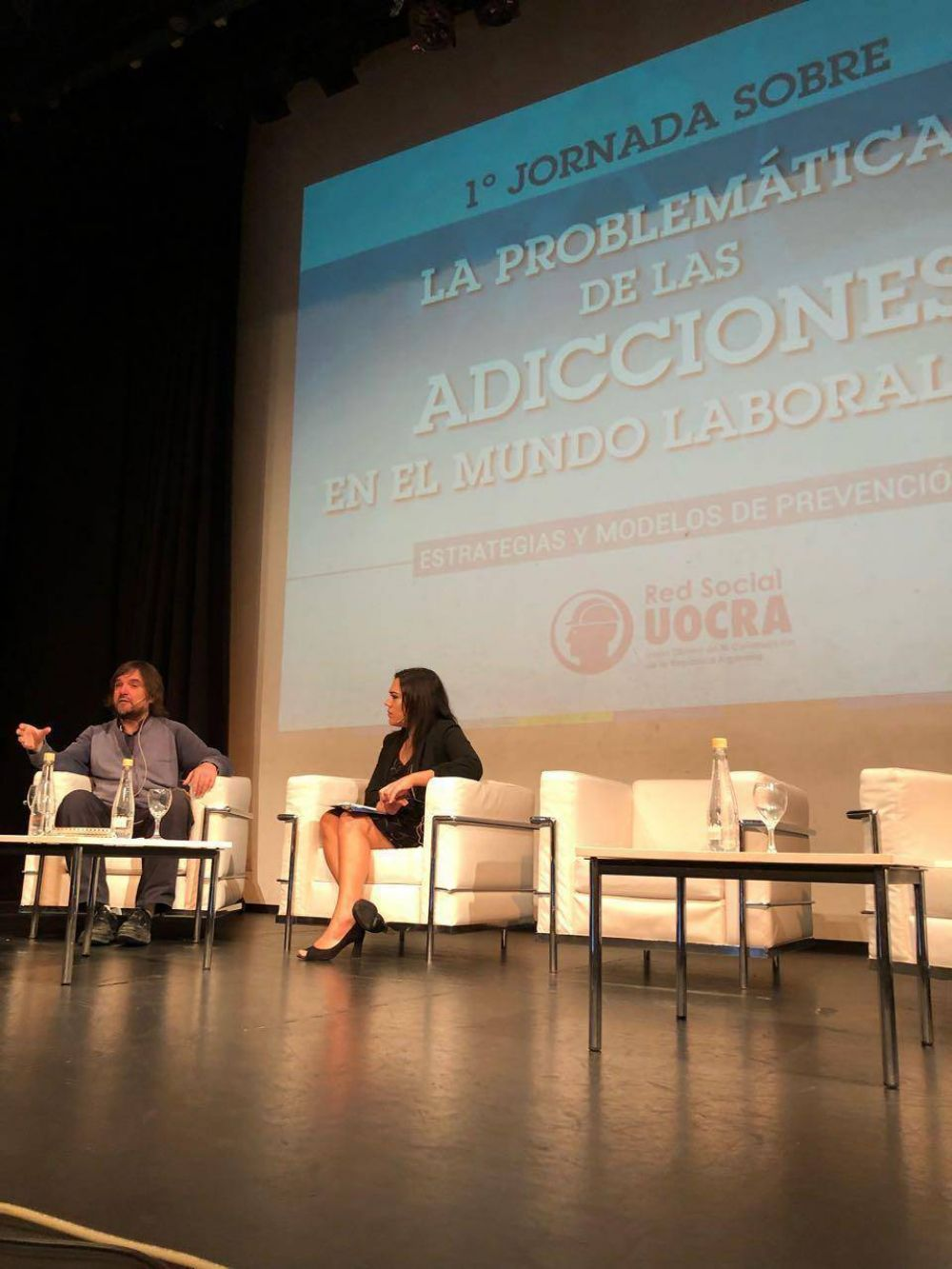 """Padre Pepe: """"la problemática de las adicciones afecta a la sociedad en general y el ámbito laboral no es la excepción"""