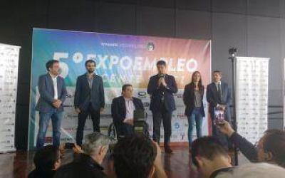 Vicente López: Triaca visitó la Expo Empleo 2017