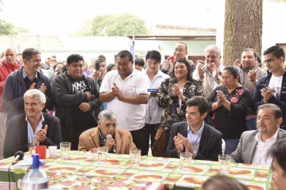 Urtubey quiere para Salta representantes propios y no delegados de proyectos nacionales