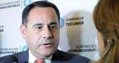 """""""Tucumán es la única provincia que invierte en seguridad"""""""