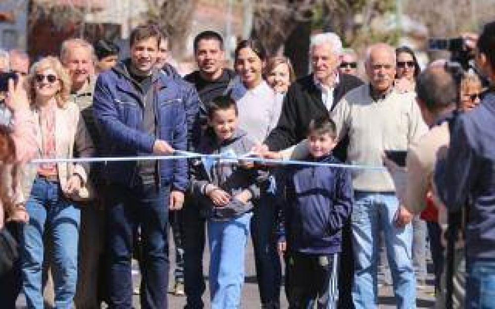 La Costa: De Jesús certificó el avance de obras en la cabecera del Partido