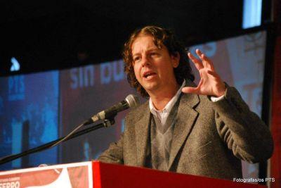 Charla debate con Christian Castillo en Necochea