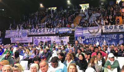 """Carlos Acuña: """"Hoy el líder del movimiento obrero es la unidad"""""""