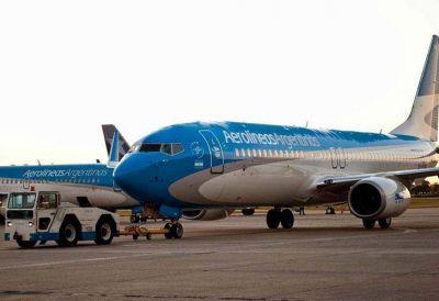 Aeronáuticos amenazan con un paro para el fin de semana largo