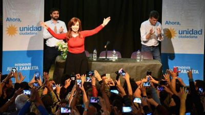 Cristina destacó en Hurlingham la actitud de Zabaleta