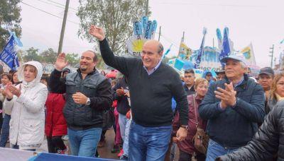 Fuerte apoyo popular a Rubén Eduardo Rivarola