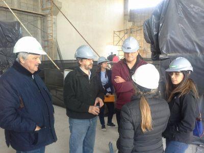 Representantes del BID y Nación recorrieron junto a OSSE avance de obra de la Estación Depuradora de Aguas Residuales