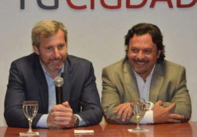 Fuerte respaldo del Gobierno nacional a Gustavo Sáenz