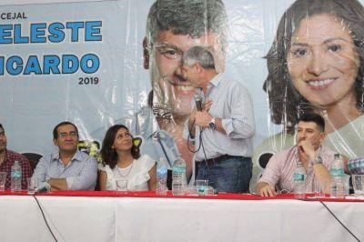 Categórico respaldo de Ricardo Buryaile a la candidatura a concejal de Celeste Ruíz Díaz