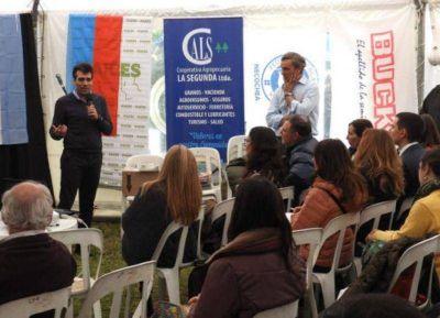 López ponderó al sector agropecuario como