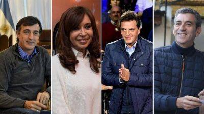 Cómo será la última semana de campaña de los principales candidatos en la Provincia