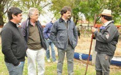 Sarquís en 25 de Mayo y Tapalqué: